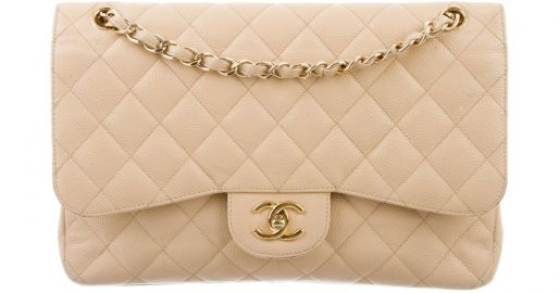 Classic Jumbo Double Flap Bag by Chanel at TheRealReal
