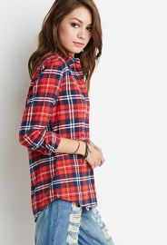 Classic Plaid Flannel Shirt  Forever 21 - 2000173755 at Forever 21