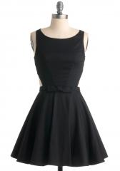 Classic Twist Dress in Black at ModCloth