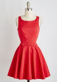 Classic Twist Dress in Ruby at ModCloth
