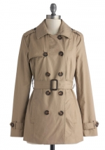 Classic trench at ModCloth at Modcloth