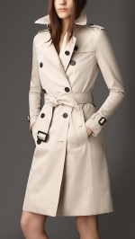 Classic trench by Burberry at Burberry