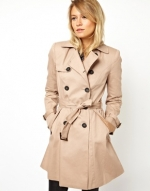 Classic trench in camel at Asos