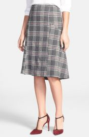 Classiques Entierand174 Plaid Skirt at Nordstrom