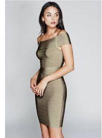 Claudie Bandage Dress at Guess