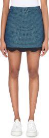 Claudie Pierlot Scallop Trim Skirt at Selfridges