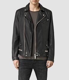 Clay Leather Jacket at All Saints