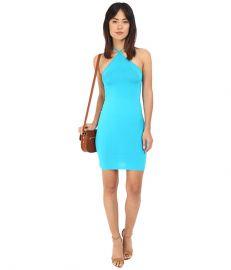 Clayton Maliya Dress Turquoise at 6pm