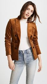 Cliff Cutaway Jacket with Elbow Patches at Shopbop