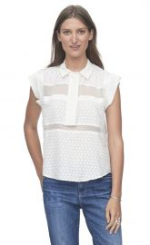 Clip Collar top at Rebecca Taylor