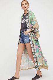 Cloud Dancer Maxi Kimono at Free People