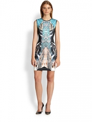 Clover Canyon - All That Jazz Printed Neoprene Dress at Saks Fifth Avenue
