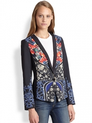 Clover Canyon - Royal Egg Blazer at Saks Fifth Avenue