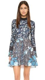Clover Canyon Bohemian Rhapsody Turtleneck Dress at Shopbop