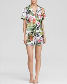 Clover Canyon Botanical Spring Short Pajama Set - Bloomingdaleand039s Exclusive at Bloomingdales