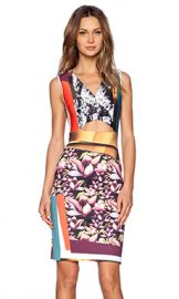 Clover Canyon Chrome Divide Dress in Multi from Revolve com at Revolve