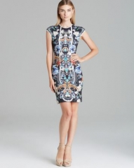 Clover Canyon Dress - Gold Panther at Bloomingdales
