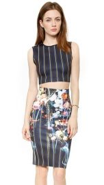 Clover Canyon George Bernard Shaw Crop Top at Shopbop