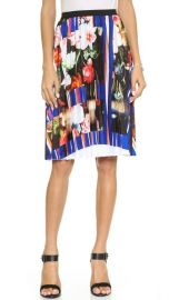 Clover Canyon Grecian Bouquet Pleated Skirt at Shopbop