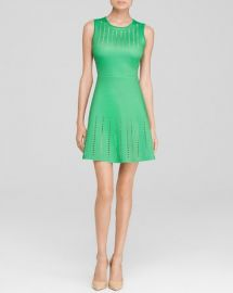 Clover Canyon Perforated Green Dress - Bloomingdaleand039s Exclusive at Bloomingdales