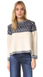 Clu Clu Too Fair Isle Pullover at Shopbop