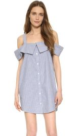 Clu Off The Shoulder Shirtdress at Shopbop