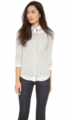Club Monaco Abby Printed Sweater at Shopbop