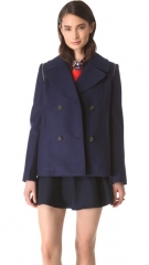 Club Monaco Akira Pea Coat at Shopbop