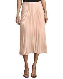 Club Monaco Annina Pleated A-line Midi Skirt at Neiman Marcus
