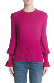 Co Flare Cuff Alpaca Blend Sweater at Nordstrom