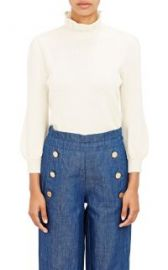 Co Ruffle-Neck Sweater at Barneys
