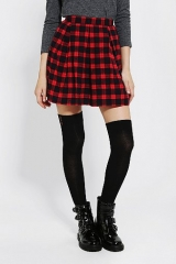 Coincidence and Chance Pleated Plaid Skirt at Urban Outfitters