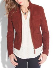 Colbie Suede Jacket  Lucky Brand at Lucky Brand