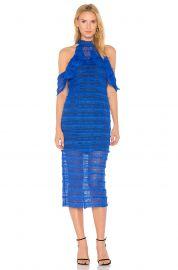 Cold Shoulder Lace Dress by Vone at Revolve