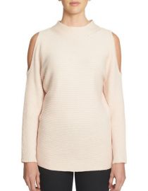 Cold shoulder sweater at Lord & Taylor