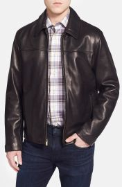 Cole Haan Lambskin Leather Jacket  Online Only at Nordstrom