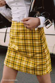 Colin Plaid Skirt at Urban Outfitters