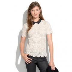 Collar Lace Top at Madewell