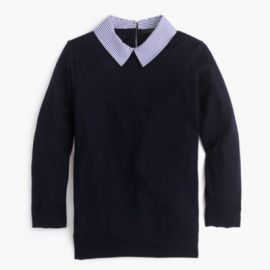 Collared Tippi sweater at J. Crew