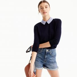 Collared Tippi sweater by J. Crew at J Crew
