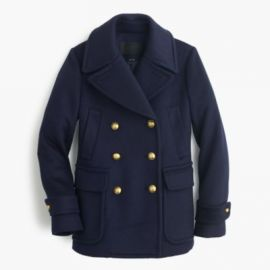 Collection cashmere Majesty peacoat at J. Crew