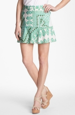 Collective Concepts Mix Print Ruffle Skirt at Nordstrom at Nordstrom