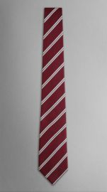 College stripe tie at Burberry