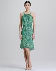 Color Burst Print Dress by Rachel Roy at Neiman Marcus