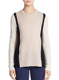 Colorblock Cashmere Sweater by Vince at Saks Off 5th