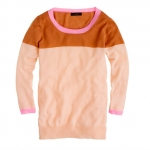 Colorblock Cashmere sweater at J. Crew