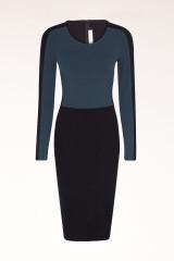 Colorblock Jersey Dress at Stella McCartney