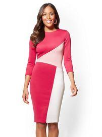 Colorblock Sheath Dress by New York and Company at NY&C