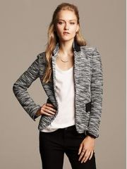 Colorblock Soft Blazer at Banana Republic