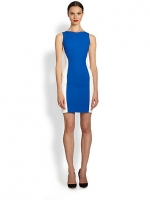 Colorblock crepe dress by Antonio Berardi at Saks Fifth Avenue